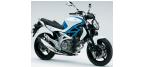 Части за мотоциклети: Уплътнение/прахозащитна капачка за SUZUKI GLADIUS