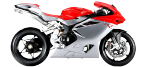 Motorcycle parts for MV AGUSTA F4