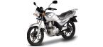 Części do motocykli: Okładzina szczęk hamulcowych / szczęka hamulcowa do SYM XS