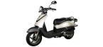 Części do motocykli: Okładzina szczęk hamulcowych / szczęka hamulcowa do SYM ALLO