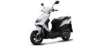 Części do motocykli: DYwignia do SYM MASK