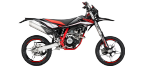 Части за мотоциклети: Феродо за барабанни накладки за BETA RR