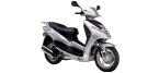 CF MOTO GLORY motociklu detaļas