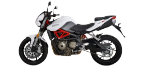 Moottoripyörän osat KEEWAY RK6 -malliin