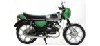 Motorfiets-componenten: Remblok/voering voor ZÜNDAPP KS