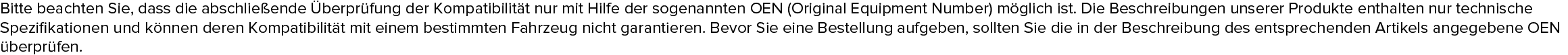 MAHLE ORIGINAL 13271121, 13271190, 13271191, 13503675, 13503677 Filter, Innenraumluft