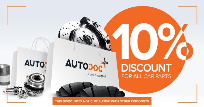 Tremendous automobile spares selection! Our assortment includes more than 1 000 000 vehicle parts!