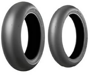 Bridgestone V02 F 90/580 R17 7196 Гуми за мотоциклети