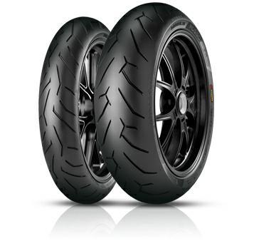 Pirelli Diablo Rosso II 140/70 R17 Sommerdæk til MC