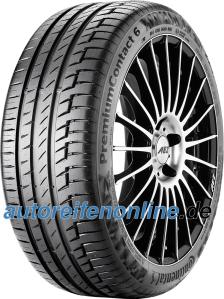 PremiumContact 6 265/40 R21 pneus auto de Continental