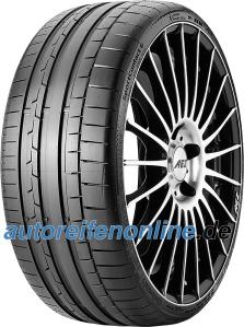 SportContact 6 325/25 R20 pneus auto de Continental