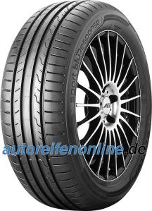 Sport BluResponse 195/50 R15 pärit Dunlop sõiduauto rehvid